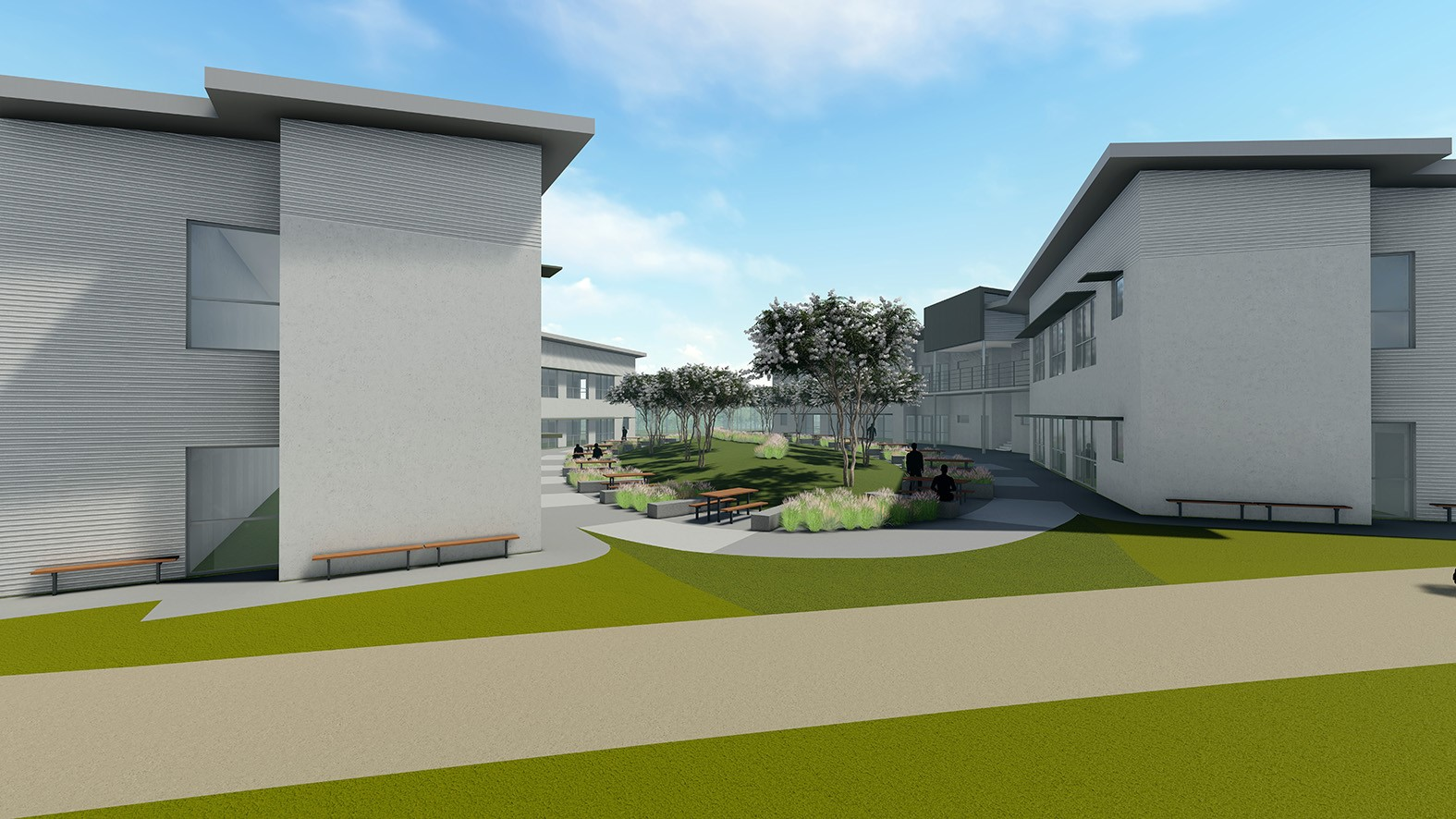 3d Modelled concept image of grafton correctional centre